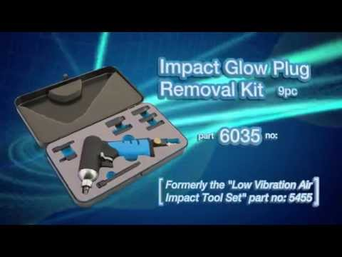 6035 | LaserTools Impact Glow Plug Removal Kit 9pc