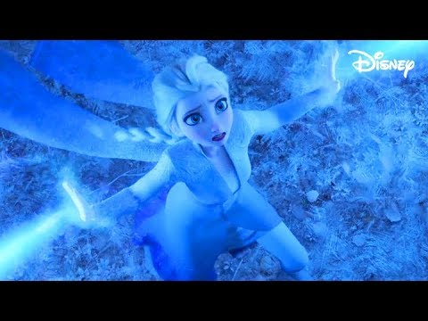 Frozen 2 - Elsa fights with the Air Spirit (Clip - HD 1080p Blu Ray)