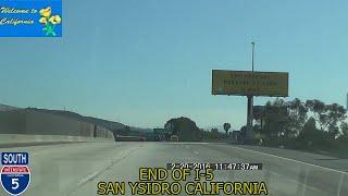 Lemon Grove (CA) United States  city photos : Los Angeles CA to San Diego CA/US Mexico Border 2016 HD