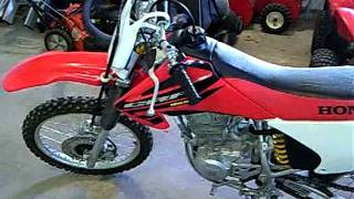 2. 2004 Honda CRF150F Start Up
