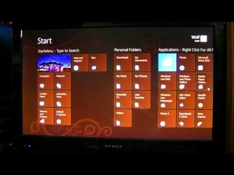 Windows 8, Classic Shell, StartMenu, StartScreen