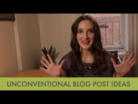 Unconventional Blog Post Ideas To Break Writer's Block