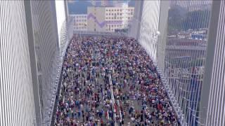 Мост через бухту Золотой Рог открыт!!! Владивосток, 11.08.2012 г.