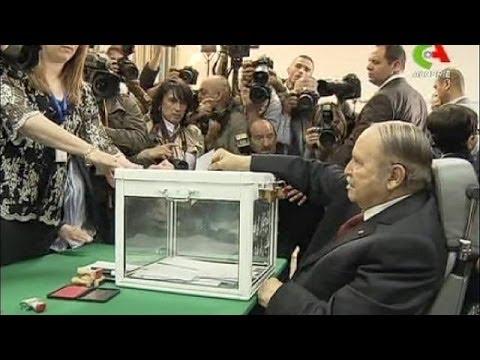 Présidentielle en Algérie : Abdelaziz Bouteflika, en fauteuil roulant, a voté !