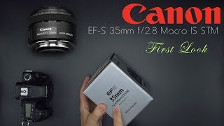 Canon EF-S 35mm f/2.8 Macro IS  Hands On First Look  4K  Image Gallery: http://bit.ly/35MacroIG  Purchase from B&H: https://bhpho.to/2u5VpUh  Amazon: http://amzn.to/2u5KXf8  Amazon Canada: http://amzn.to/2sN6k0UCanon has released a new macro lens for its APS-C (crop sensor) camera bodies.  This unique lens features a built-in LED light along with a wider focal length and Image Stabilization.  This first look breaks down the design and gives you some sample images. My Patreon: https://www.patreon.com/dustinabbott  Zhiyun Crane - USA: http://amzn.to/2swwOH3  Check me out on:  Personal Website:  http://dustinabbott.net/   Sign up for my Newsletter: http://bit.ly/1RHvUNp   Google+: http://bit.ly/24PjMzv  Facebook:  http://on.fb.me/1nuUUeH   Twitter:  http://bit.ly/1RyYxIH   Flickr:  http://bit.ly/1UcnC0B   500px:  http://bit.ly/1Sy2Ngu Check me out on:  Personal Website:  http://dustinabbott.net/   Sign up for my Newsletter: http://bit.ly/1RHvUNp   Google+: http://bit.ly/24PjMzv  Facebook:  http://on.fb.me/1nuUUeH   Twitter:  http://bit.ly/1RyYxIH   Flickr:  http://bit.ly/1UcnC0B   500px:  http://bit.ly/1Sy2Ngu Tags:  Canon EF-S 35mm f/2.8 Macro IS STM, Canon 35 Macro, EF-S 35mm Macro, LED, Ring Light, Dustin Abbott, Canon EF-S 35mm f/2.8 Review, Canon EF-S 35mm Macro Review, Canon 35mm Macro Review, EF-S, Canon, 35mm f/2.8, Macro, IS STM, Review, Photography, 2017, Hands On, Sample Images, Video Test, Lens, How To
