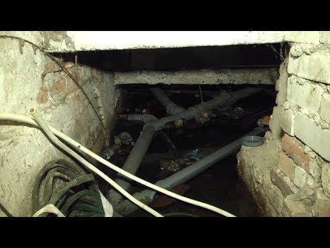 В одному з будинків Житомира затоплені підвальні приміщення