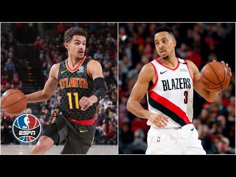 Video: CJ McCollum notches 1st triple-double, Trae Young scores 30 as Blazers top Hawks | NBA Highlights