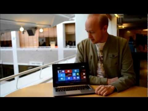 Asus Vivobook S200E med Windows 8 och pekskärm