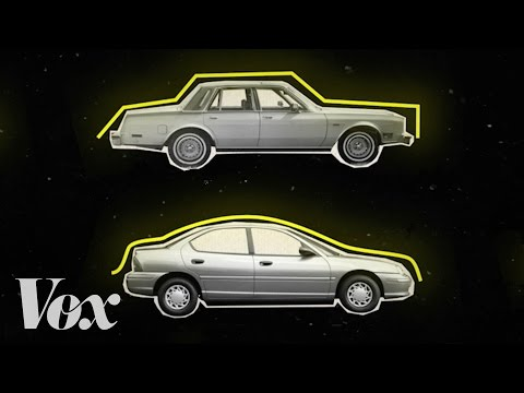 How Cars Evolved From Boxy to Curvy