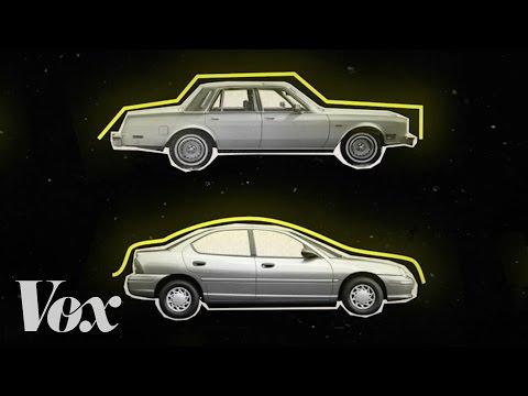 Эволюция дизайна автомобилей
