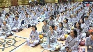 TRỰC TIẾP: Khóa Tu Thiền Tứ Niệm Xứ lần 30 tại chùa Giác Ngộ - Ngày 21 - 10 - 2018