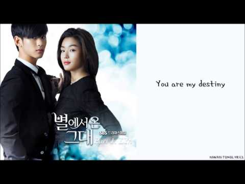 Video LYn  My Destiny ☻ You Who Came From The Stars OST Hangul Romanized English Sub Lyrics download in MP3, 3GP, MP4, WEBM, AVI, FLV January 2017