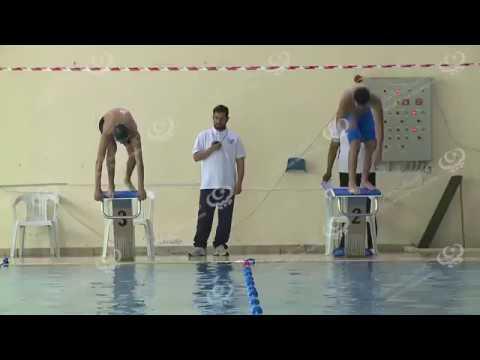 انطلاق بطولة السباحة بنادي جنزور البحري