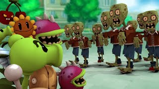 HOW TO PLAY PLANTS VS ZOMBIES IN MINECRAFT! (Plants vs Zombies Challenge)