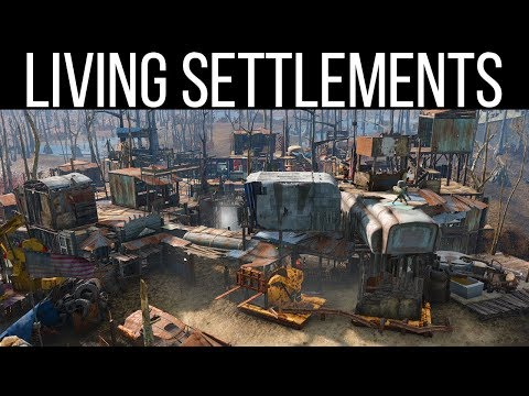SELF BUILDING SETTLEMENTS - Fallout 4 Mods Weekly - Week 84 (PC/Xbox One)