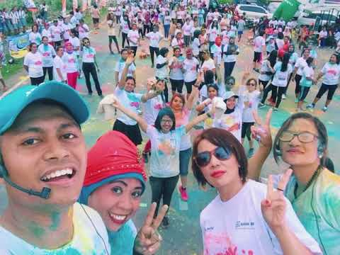 Zumba Color Party 2017 - BRI KCP MBAY