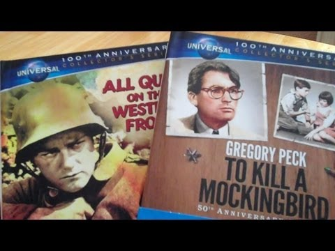 To Kill A Mockingbird & All Quite On The Western Front Blu-Ray Digibooks Review