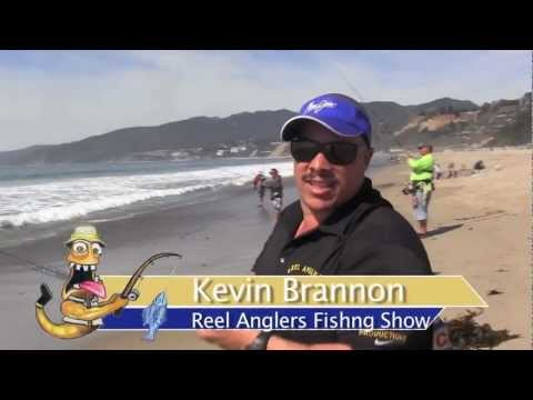 Kids Surf Fishing for Big Surf Perch – Santa Monica, CA