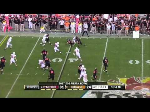 Justin Blackmon vs Stanford 2011 (Fiesta Bowl) video.
