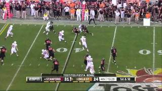 Justin Blackmon vs Stanford Fiesta Bowl
