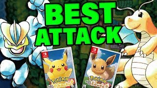 Which Pokemon Have The BEST Attack In Pokemon Let's Go? by Verlisify