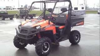 8. 2012 Polaris Ranger XP 800 Black/Orange Madness LE at Tommy's MotorSports