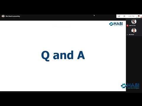 Habi Web Technologies Live Stream
