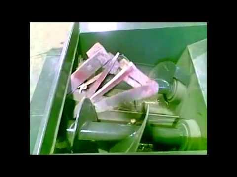 дробилка картона своими руками видео