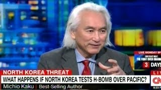 "Video Michio Kaku ""I DON'T Think The North Koreans Have A True H-Bomb!"" MP3, 3GP, MP4, WEBM, AVI, FLV November 2017"