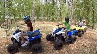 9. Youth ATV Fun Ride. Yamaha Raptor 90, Quadsport Suzuki 90 & Quadsport Suzuki 50.
