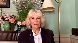 video: Duchess of Cornwall: 'Corrosive' silence about domestic abuse must end