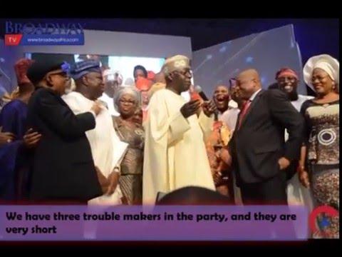 Interest Footage Of APC Chieftain Tinubu Dancing To Eyo Song