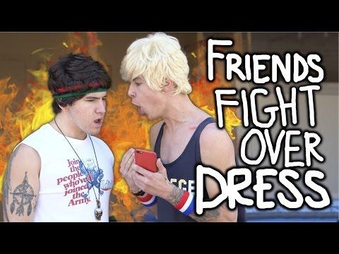 Kian & Jc // Friends Fight Over Dress