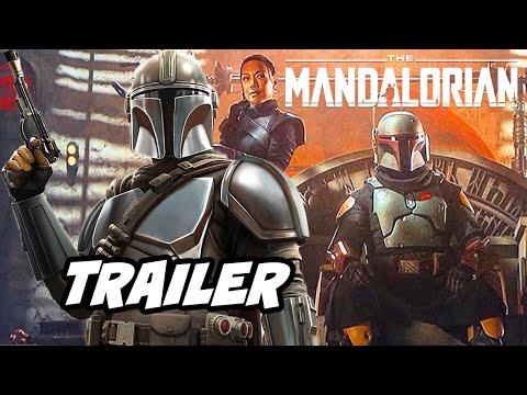 The Mandalorian Book of Boba Fett Teaser Trailer - Star Wars Breakdown with Jon Favreau