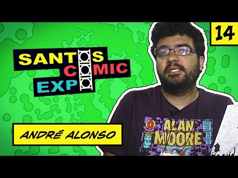 E14 ANDRÉ ALONSO | SANTOS COMIC EXPO 2014
