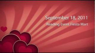 Fiesta Mart reading program in Houston, Texas sponsored by La Vaquita Cheese, Arte Publico and Univision radio. Author...
