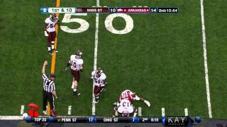 Johnthan Banks vs Arkansas (2011)