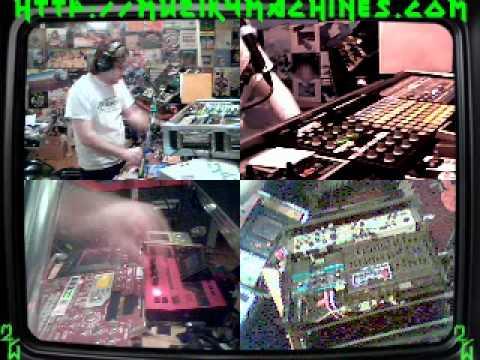 Jean Leloup - 1990 (2011 M4M Live Remix) 1st Try - Muzik 4 Machines