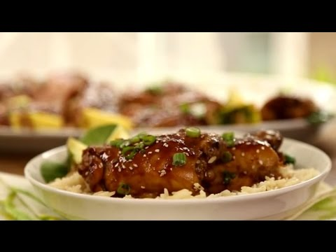 Chicken Recipes – How to Make Oven Roasted Teriyaki Chicken