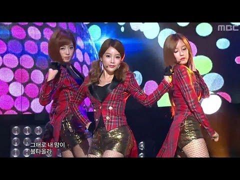 T-ARA - Sexy Love, 티아라 - 섹시 러브, Music Core 20121013 (видео)