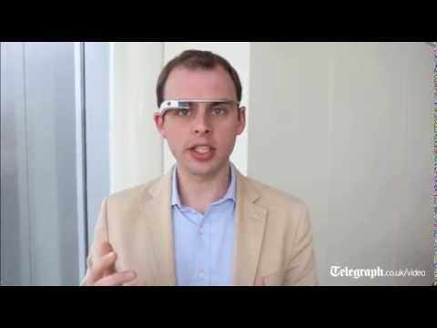 google phone - Consumer Technology Editor Matt Warman wears Google Glass, the new technology that he predicts could become as common as a mobile phone.