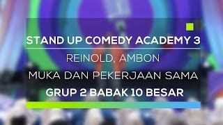 Video Stand Up Comedy Academy 3 : Reinold, Ambon - Muka Dan Pekerjaan Sama MP3, 3GP, MP4, WEBM, AVI, FLV November 2017