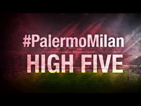 High Five #PalermoMilan