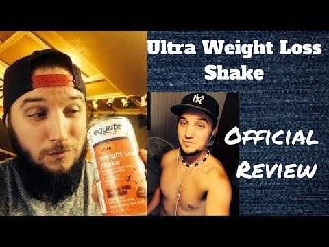 Equate Ultra Weight Loss Shake Review!
