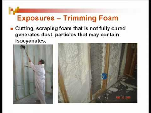Spray Foam Safety Slide Show by EPA