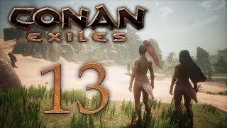 Conan Exiles — прохождение игры на русском — В джунгли! [#13] | PC