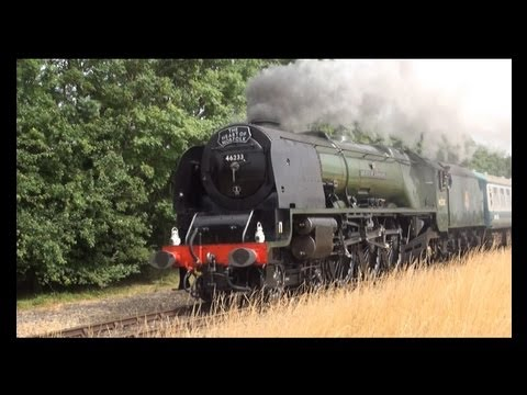 mnr - MNR 'Big 4' Steam Gala Starring. 6233 Duchess of Sutherland 1306 'Mayflower' 30053 M7 Pannier tank 9466 Filmed around Kimberley Park.