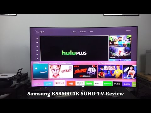 Samsung 65KS9500 Curved 4K HDR SUHDTV Review!!!
