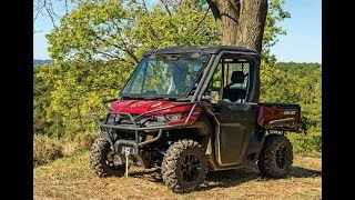 7. 2018 Can Am Defender-Review & Test Drive