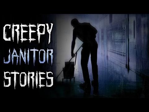 8 True Creepy Janitor Horror Stories (видео)